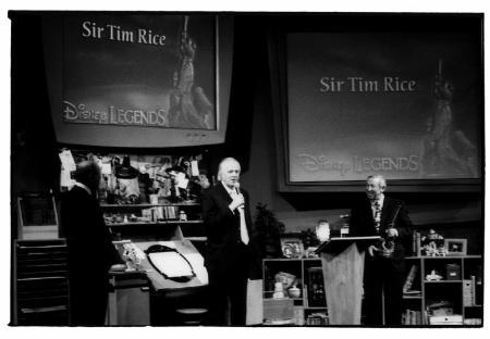 """Sir Tim Rice & Friends"" To Celebrate Disney on Broadway Songbook, Jan 7th"