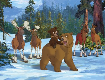 Brother Bear Cartoon Disney