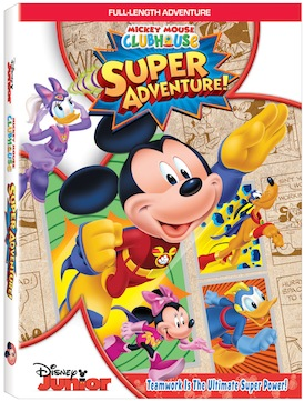 Mickey Mouse Clubhouse Super Adventure! DVD