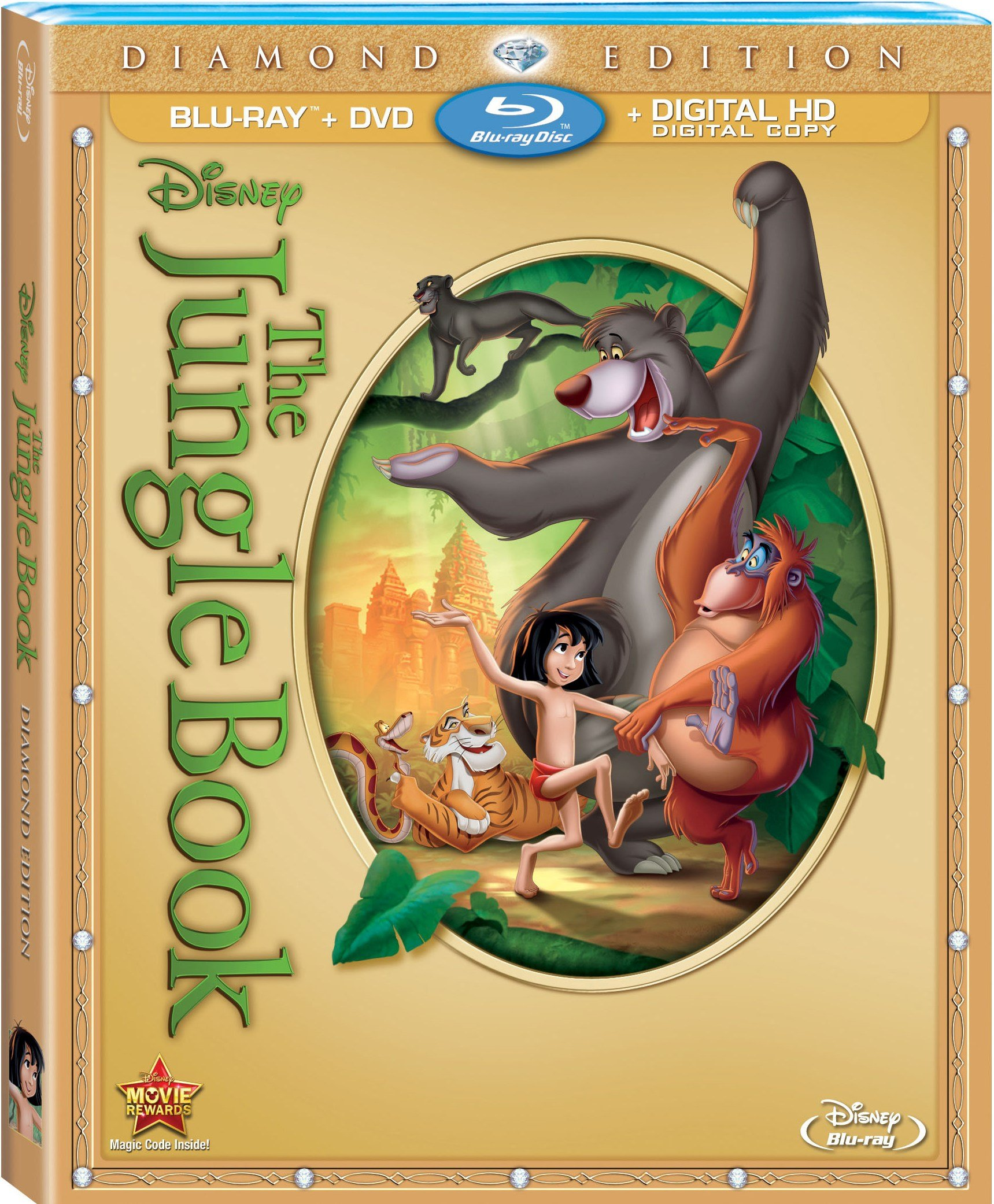 The Jungle Book' Diamond Edition Blu-Ray Review