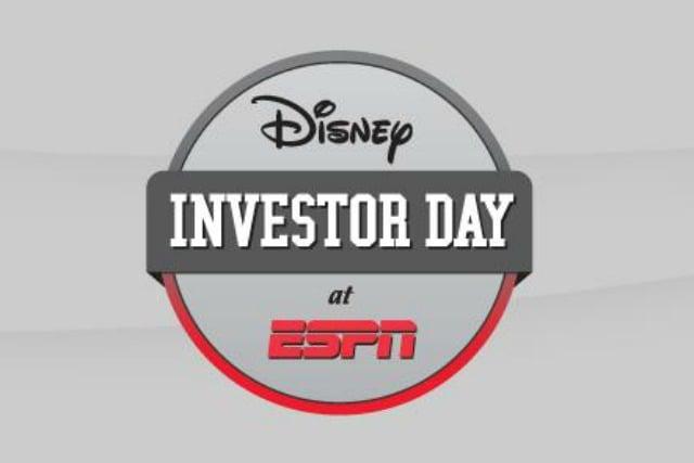 Disney Investor Day at ESPN Live Blog