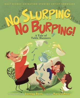 WDAS Artist Showcase: 'No Slurping, No Burping!' Book Review