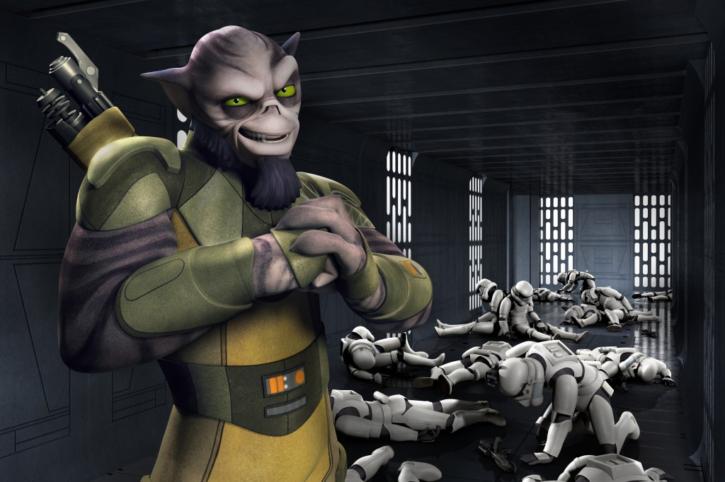An Early Look at Star Wars: Rebels