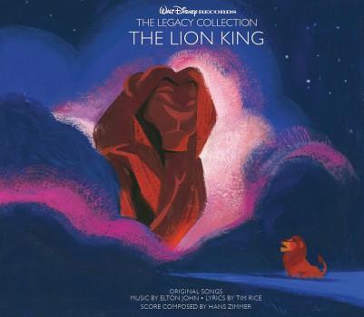 Walt Disney Records Lion King cover art