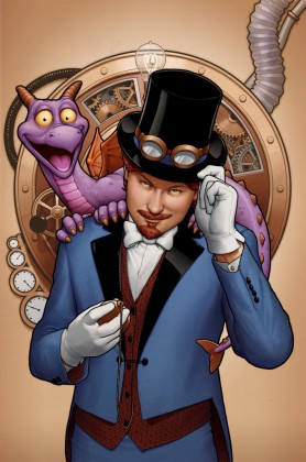 New Artwork from Marvel Figment Comic