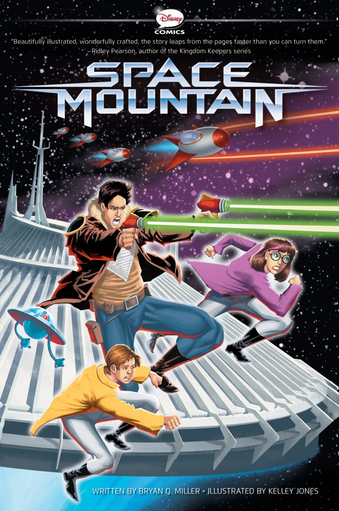 Space Mountain Graphic Novel Review