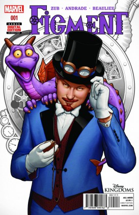 Figment Comic Gets Second Printing