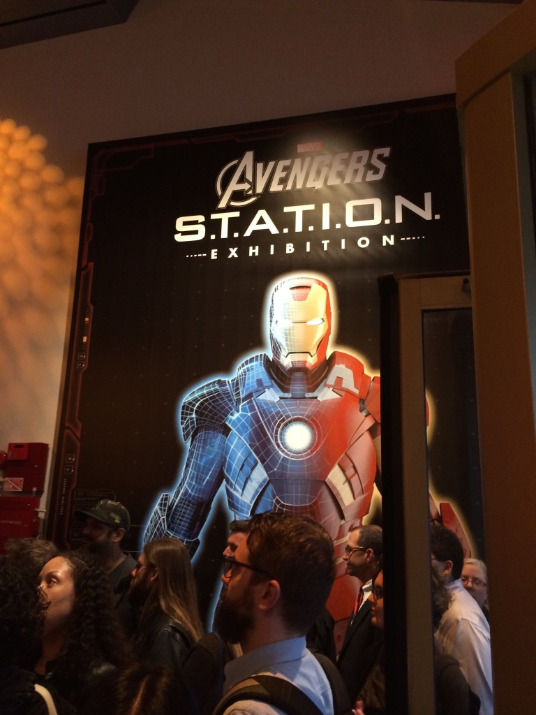 Enter Marvel S Avengers S T A T I O N In Nyc border=