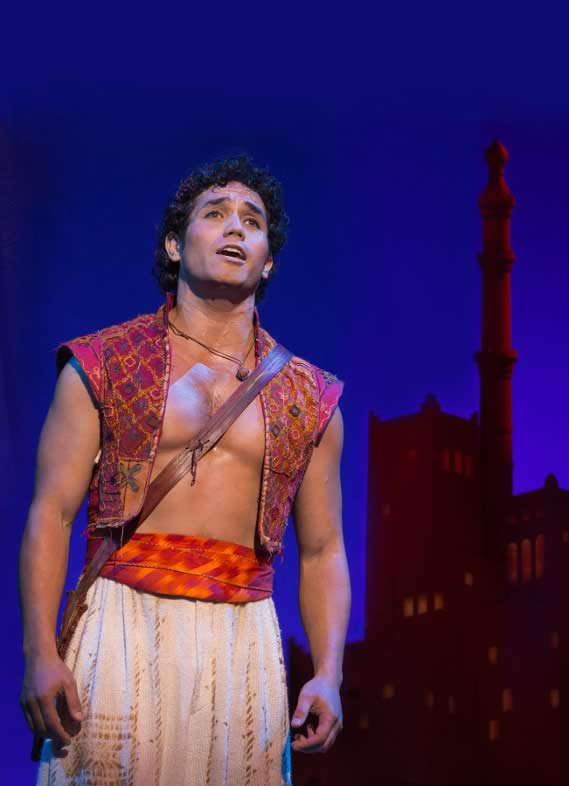 'Aladdin - The New Musical Comedy' Review