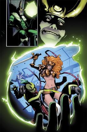 The History of Angela Revealed in Thor & Loki Comic Series