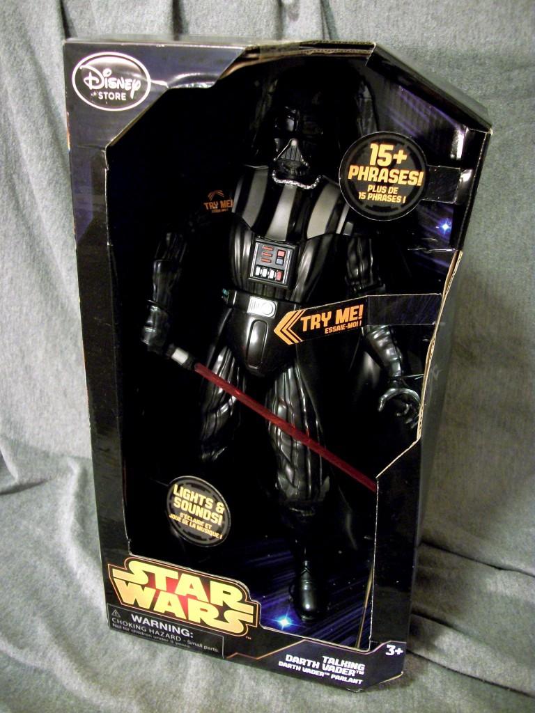 Darth Vader Rules Disney Store