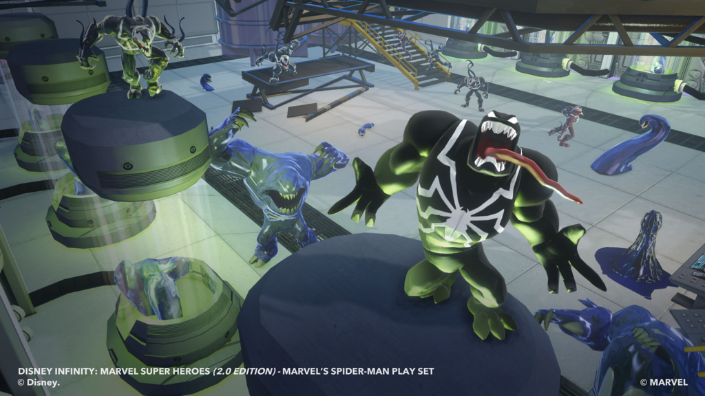 Spider Man Playset Coming To Disney Infinity