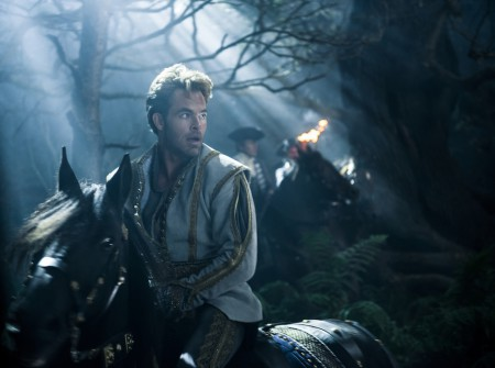 Chris Pine stars as Cinderella's Prince