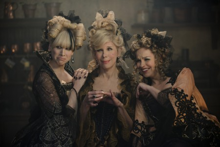 Lucy Punch, Christine Baranski and Tammy Blanchard bring Cinderella's evil stepsisters and stepmother to life