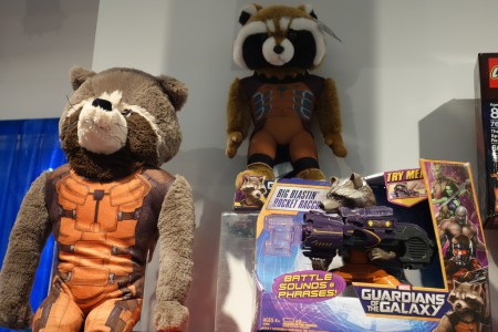 Rocket Raccoon Plush and Big Blastin' Rocket Racoon_14322835777_l
