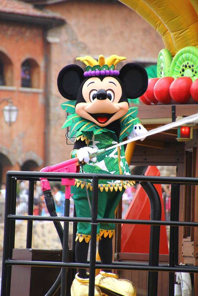Minnie's Tropical Splash at Tokyo DisneySea