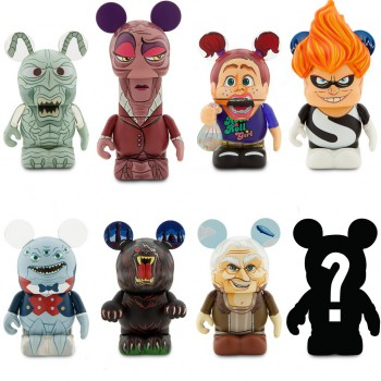 Disney Store Pixar Villains Vinylmations Now Available