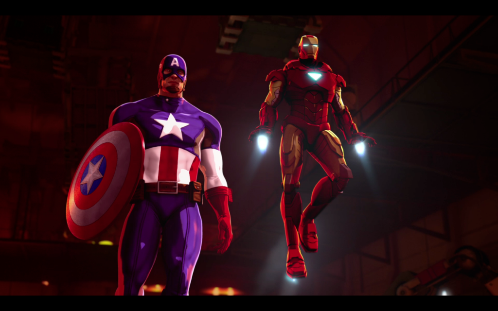 Review: Marvel's Iron Man & Captain America: Heroes United