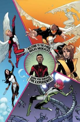 The All-New X-Men Meet Miles Morales