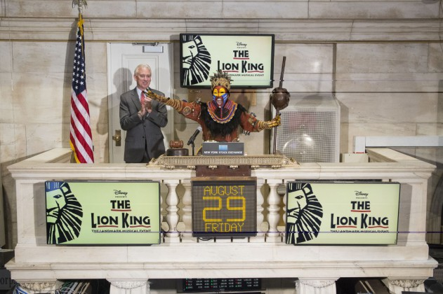 The Lion King to Celebrate 7,000 Broadway Performance