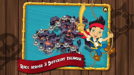 Review: Jake and the Never Land Pirates Treasure Trek App