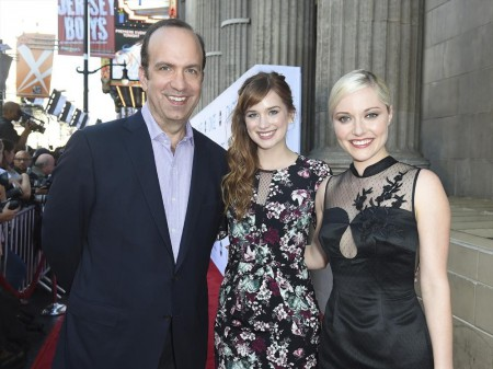 BEN SHERWOOD (CO-PRESIDENT, DISNEY/ABC TELEVISION GROUP), ELIZABETH LAIL, GEORGINA HAIG