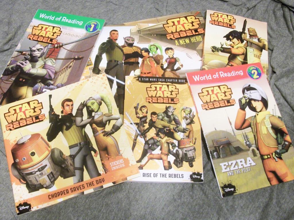 Star Wars Rebels Books