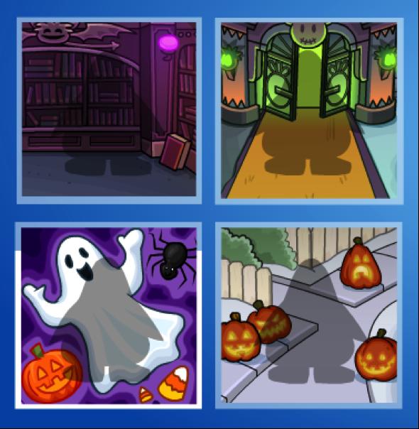 Club Penguin Halloween