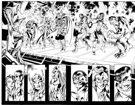 Avengers_Ultron_Forever_1_Interior_Preview_Inks