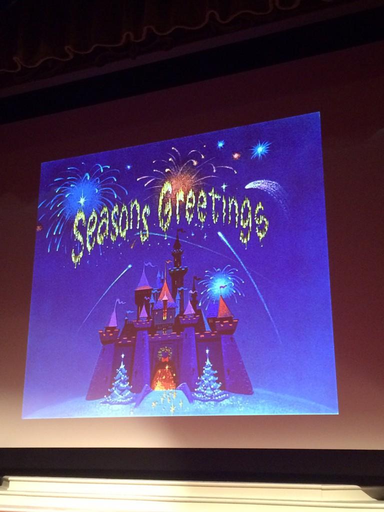 Disneyland Celebrates Christmas Shorts