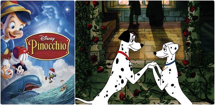 Disneyland Resort Annual Passholder Screenings of 101 Dalmatians and Pinocchio