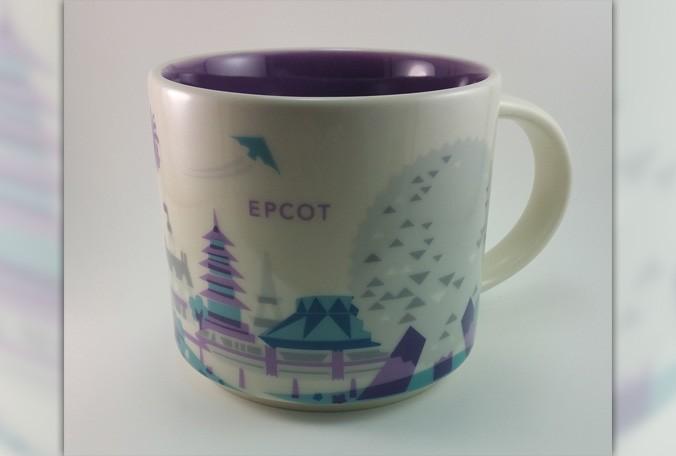 Starbucks Pulls Epcot Mug with Purple Monorail