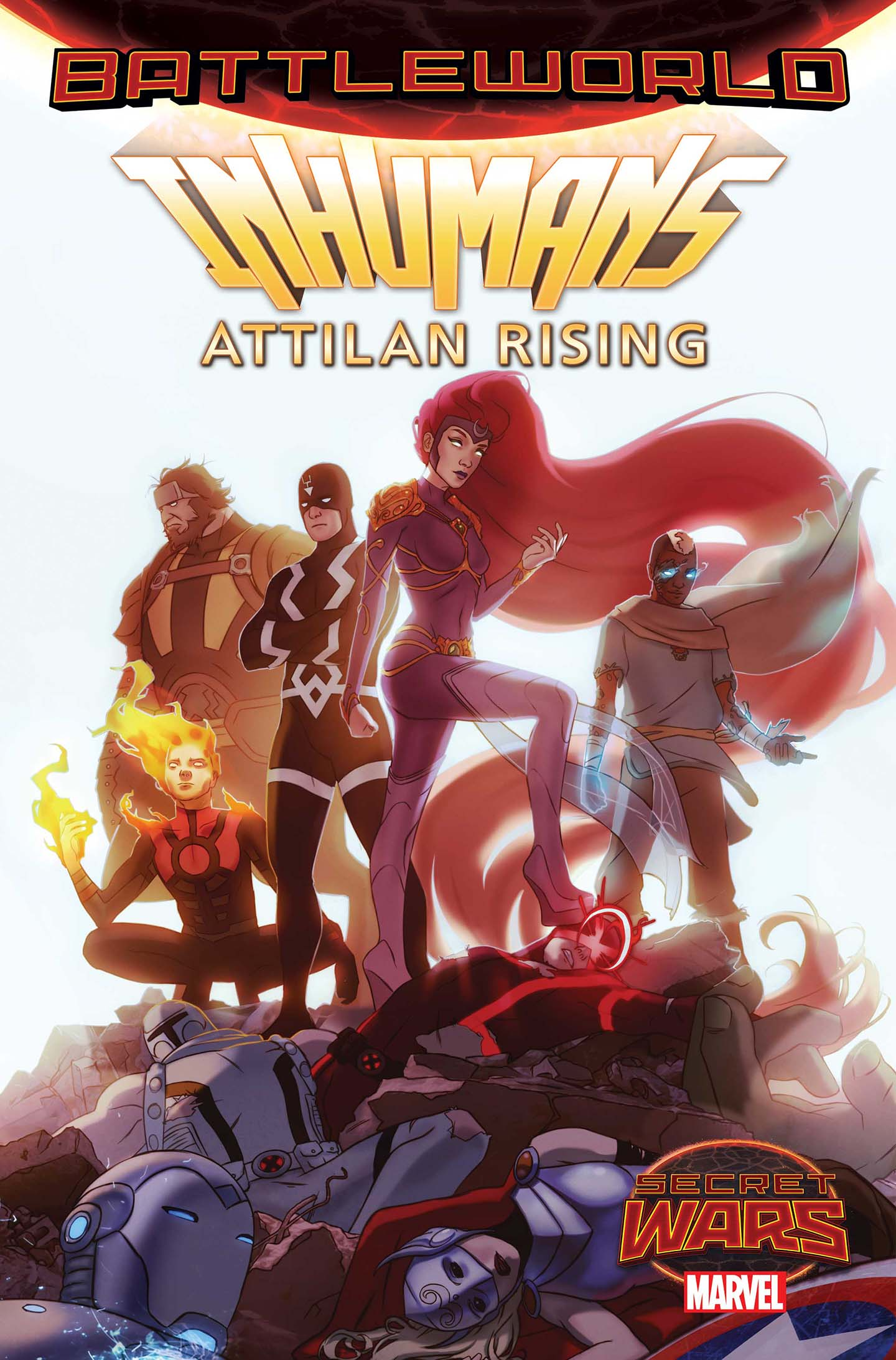 Marvel Announces Inhumans: Attilan Rising