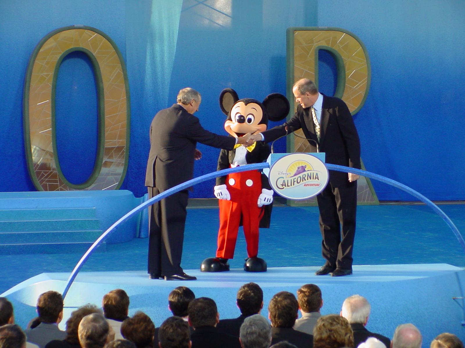 Throw Back Thursday: Disney's California Adventure Opening Day