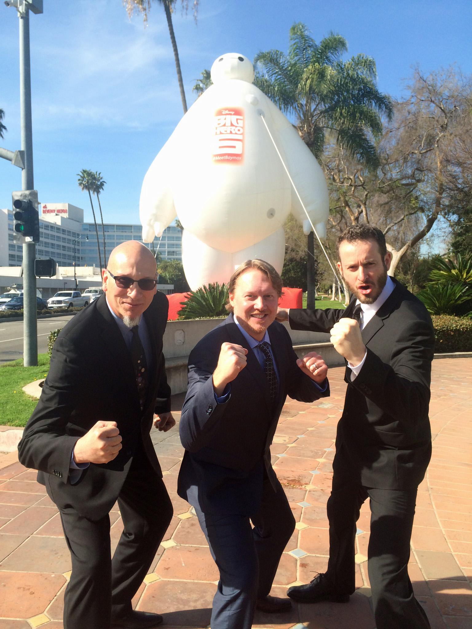 Pop-Up Baymax Visits Beverly Hills