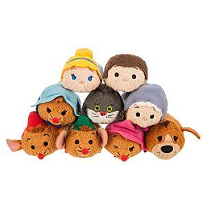 Cinderella Tsum Tsum Collection Now Available