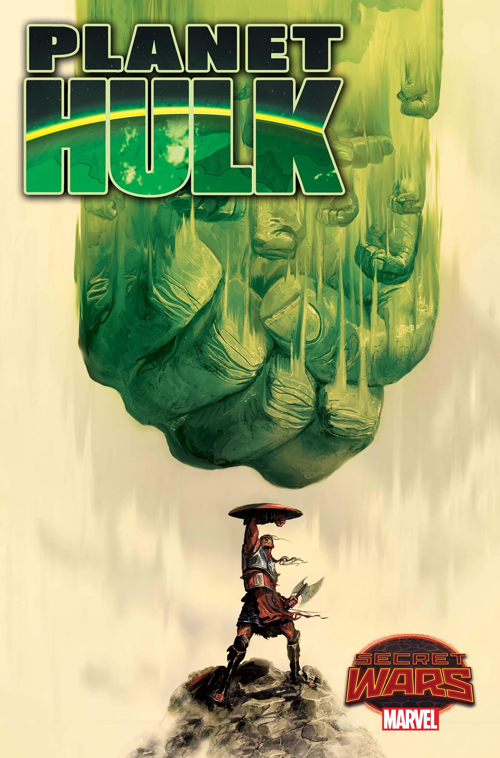 Secret Wars Comes to Planet Hulk