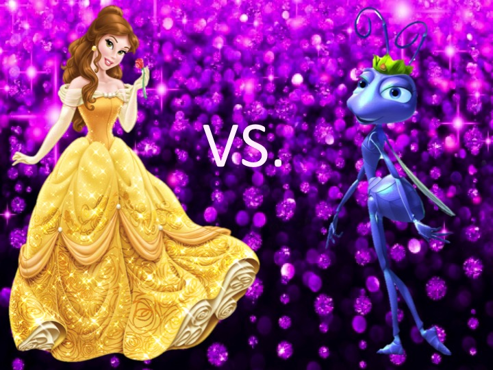 Mouse Madness Opening Round: Belle vs. Princess Atta