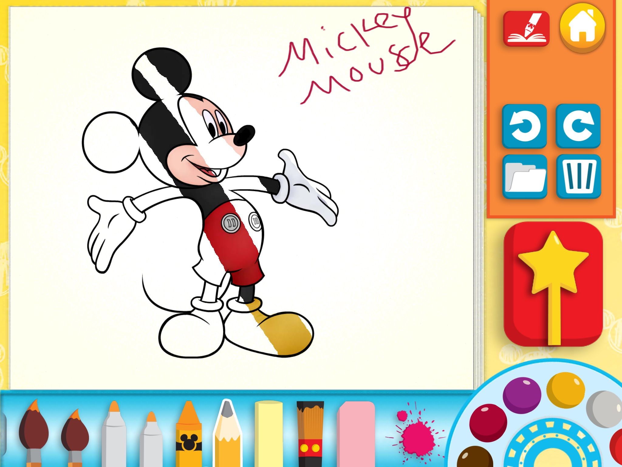 Disney Coloring Book App