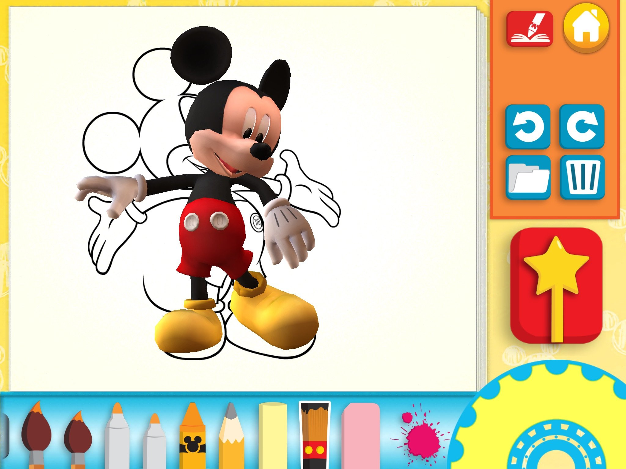 Review disney 39 s color and play app Play app