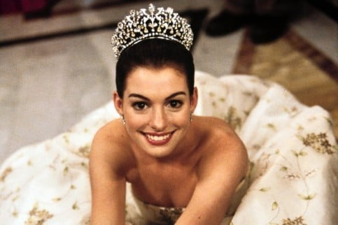Anne Hathaway Princess Diaries Wedding Dress   Pinterest