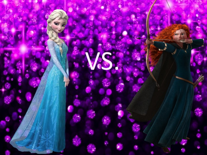Mouse Madness Opening Round Elsa Vs Merida