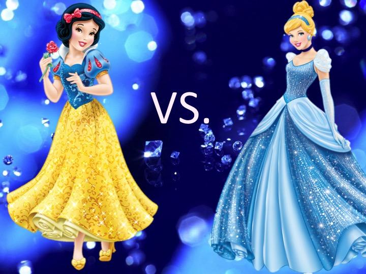 Mouse Madness Elite Eight: Snow White vs. Cinderella