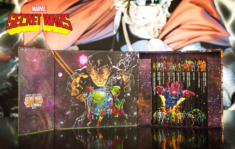 Marvel Offering Secret Wars: Battleworld Box Set Slipcase