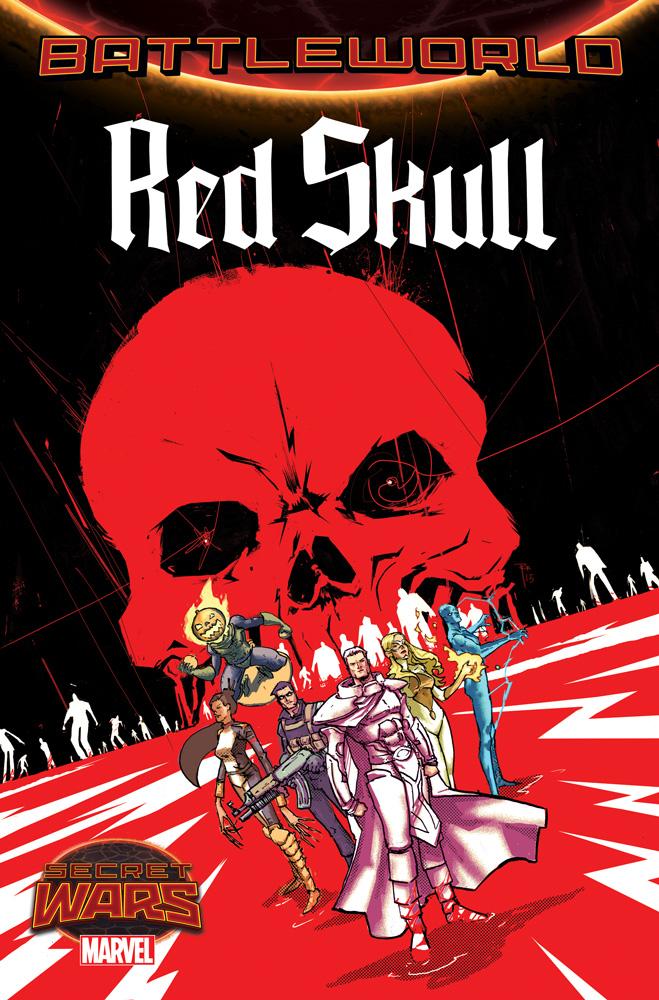 Red Skull Enters Marvel's Secret Wars