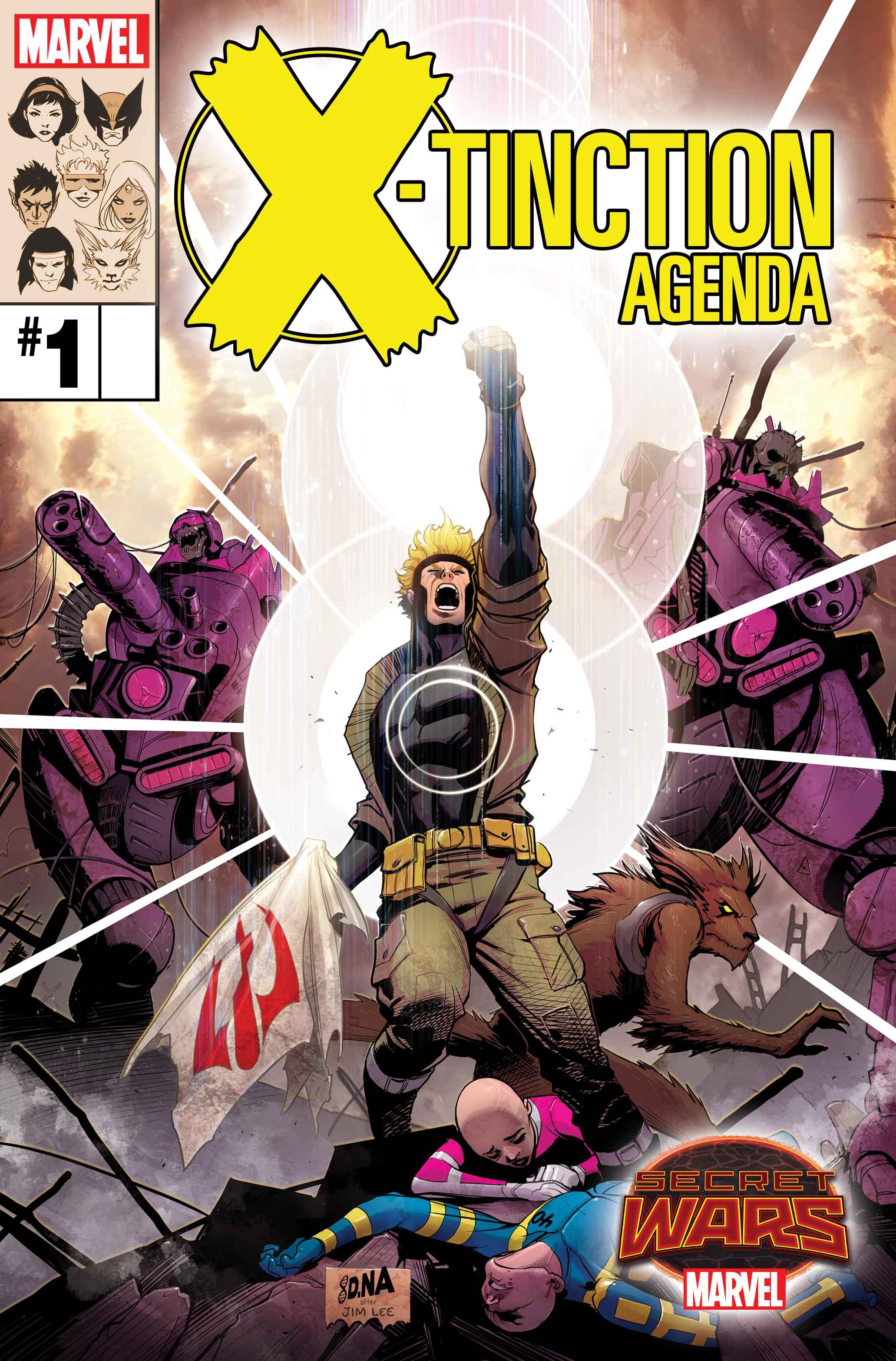 Mutants Battle Mutants in Marvel's Secret Wars
