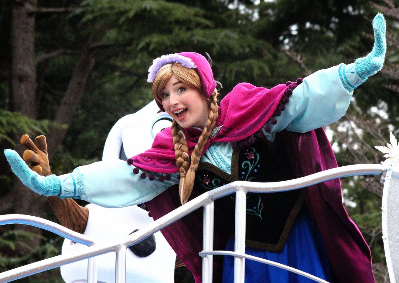 Anna and Elsa's Frozen Fantasy