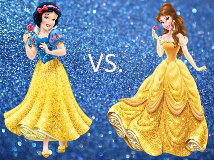 Mouse Madness Fantasmic Four: Snow White vs. Belle