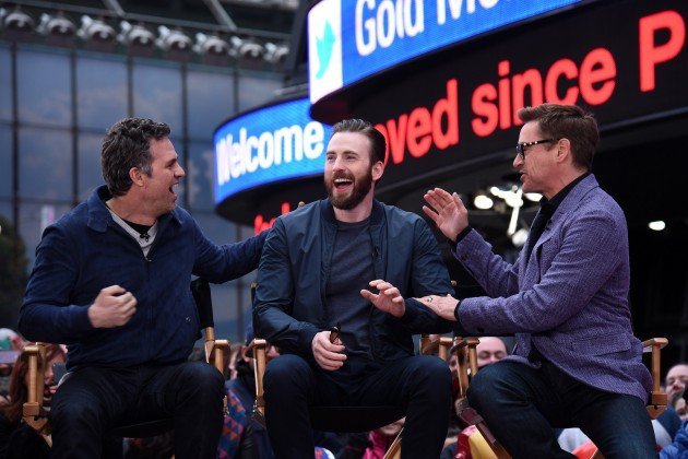 Pictures from GMA's Avengers Takeover