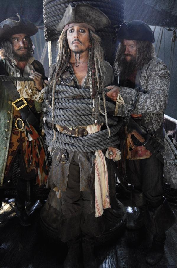 First Look at Captain Jack in Pirates of the Caribbean: Dead Men Tell No Tales